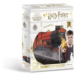 Harry Potter Puzzle 3D Expreso de Hogwarts Set (180 piezas)
