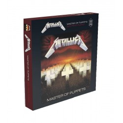 Metallica Rock Saws Puzzle Master Of Puppets (500 piezas)