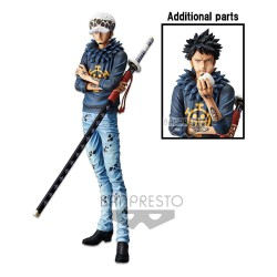 One Piece Estatua Grandista The Grandline Men Trafalgar Law 29 cm