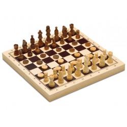 Cayro - 3 en 1 Ajedrez, Damas y Backgammon - Juego de Madera Tradicional
