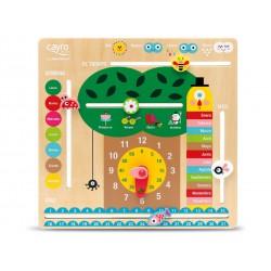 Cayro -Calendario - Juego para bebés - Desarrollo de Habilidades cognitivas