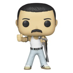 Funko pop Queen Rocks Figura Freddie Mercury Radio Gaga 9 cm
