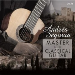 Cd Andrés Segovia -Master of the Classical Guitar- 2cd