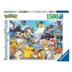 Ravensburger, Pokémon Puzzle Pokémon Classics (1500 piezas)