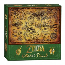 Puzzle 500 Piezas Legend of Zelda Puzzle Hyrule Map