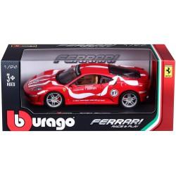 Burago, Ferrari Carrocería en metal e interiores en plástico