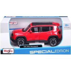 Maisto, Coche Modelo Jeep Renegade Escala 1:24