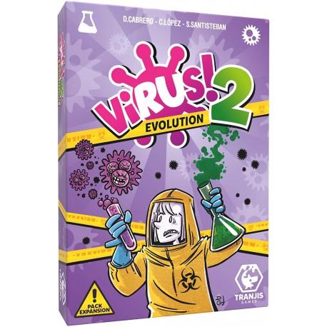 Juego de cartas- Virus 2 Evolution - Tranjis Games