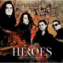 Cd Héroes silencio y rock & roll - 2 CDs