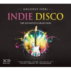 Cd Varios -Indie Disco- The  Definitive Collectión- 3Cd