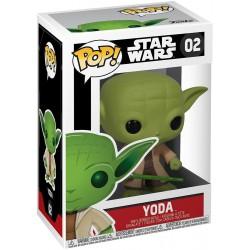 Star Wars POP! Vinyl Cabezón Dagobah Yoda 8 cm