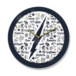 Harry Potter Reloj de Pared Infographic