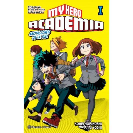 MY HERO ACADEMIA (NOVELA) Nº 01