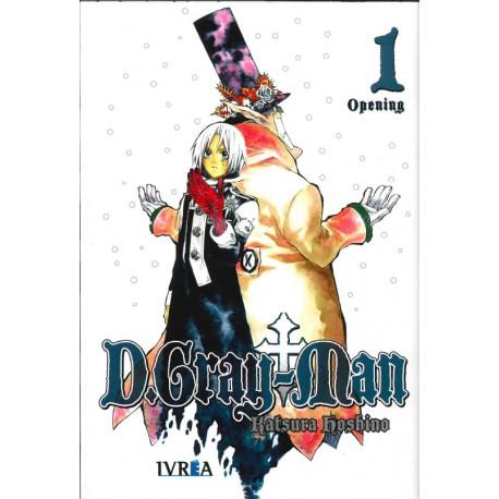 D.GRAY MAN 01 (COMIC)