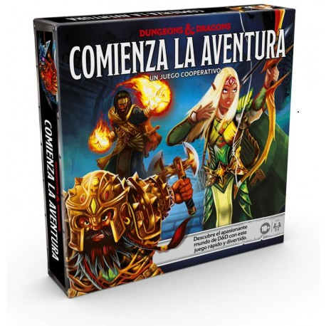 DUNGEONS AND DRAGONS COMIENZA LA AVENTURA JUEGO TABLERO