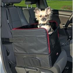 Trixie -Asiento para coche -perro o mascota- nylon-45x38x37-cm-negro.