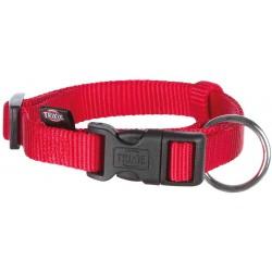 Trixie Collar Rojo para perros classic 30-45cm S-M