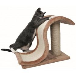 Trixie - Onda Rascadora Inca para gatos Color marrón claro-natura Altura 39 cm