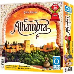 Devir Alhambra -Juego de Mesa -Queen Games-