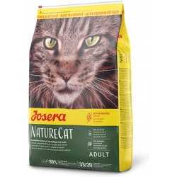 JOSERA NatureCat 2kg: Con Ave de Corral Y Salmón para Gatos